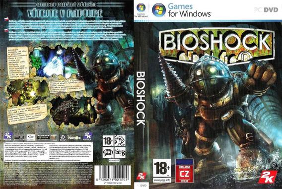 Bioshock Remastered Pc (midia Física)