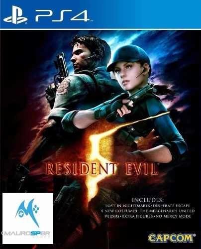 Resident Evil 5 Ps4 Disco Fisico
