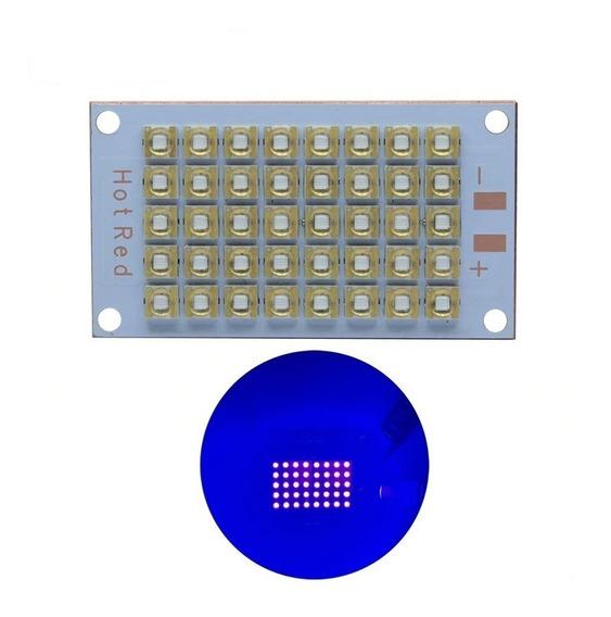 Chip Led 120w Uv Ultra Violeta 35v Fast Curing Serigrafia Dj