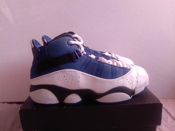 Jordan 6 Ring Blanco Azul 20.5cm