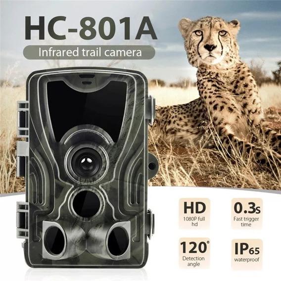 Armadilha Câmera Trilha Com Visor Lcd - Hc-801a