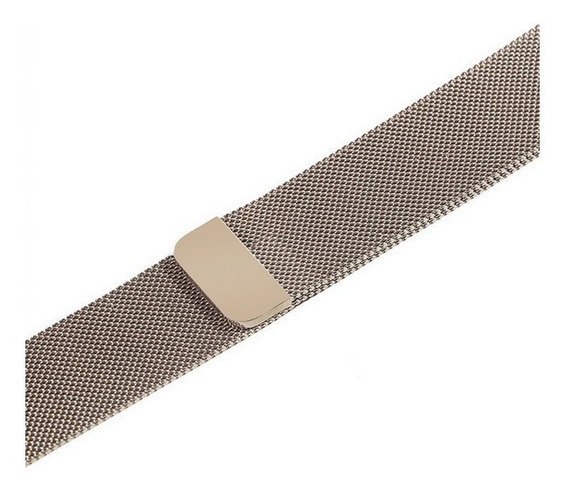 Pulseira Milanese Para Apple Watch 38 40mm 42mm 44mm