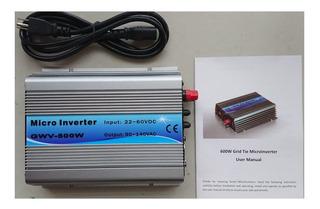 Inversor Interconexión Cfe 500w Solar
