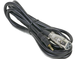 Cable Canon Xlr A Mini Plug 3.5mm 2.5 Metros