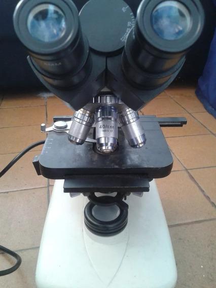Microscópio Bioval Zom 1000x Usado Funcionando Perfeitamente
