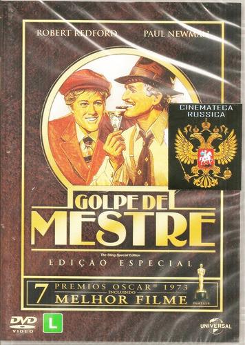 Dvd Golpe De Mestre, Paul Newman Robert Redford  1973  +