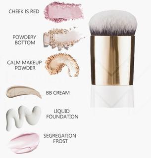 Brocha Kabuki Maquillaje Profesional Base Polvo Corrector