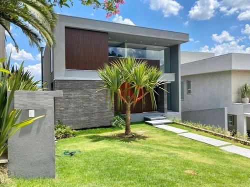 Imagem 1 de 27 de Tambor 10 - Casa Com 4suítes À Venda, 505 M² Por R$ 5.390.000 - Alphaville - Santana De Parnaíba/sp - Ca6378