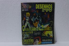 Revista Cinemax 02 - Poster Cavaleiros Do Zodiaco