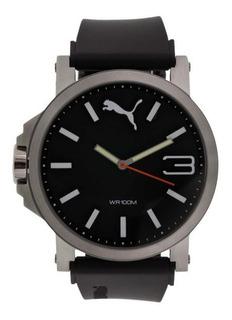 Relógio Puma Ultrasize Preto 96218g0pmnu1 Elegante E Prático