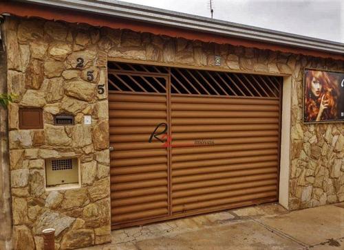 Casa Com 2 Dormitórios À Venda, 41 M² Por R$ 273.000,00 - Loteamento Residencial Porto Seguro - Campinas/sp - Ca0488