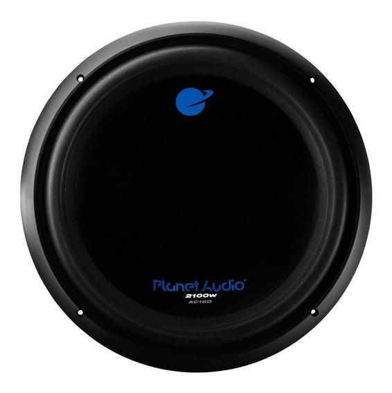 Subwoofer 15 Pulgadas Planet Audio 15 Anarch Ac15d 1050w Rmp