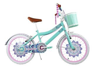 Bicicleta Monk Mandala Bike Rodada 20 1 Velocidad