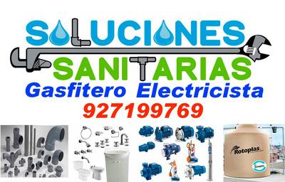 Gasfitero Gasfiteria Electricista Filtraciones Thermas