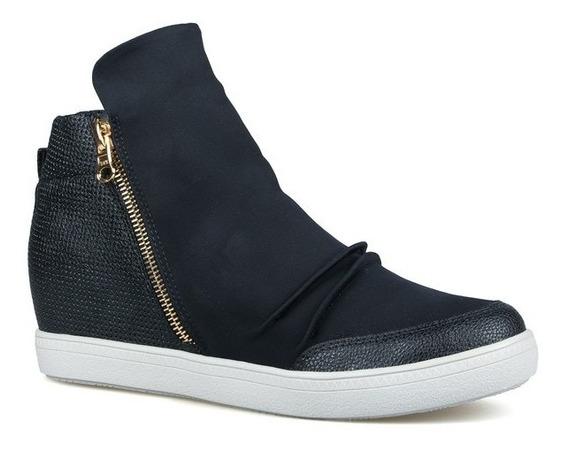 Tênis Feminino Sneaker Preto