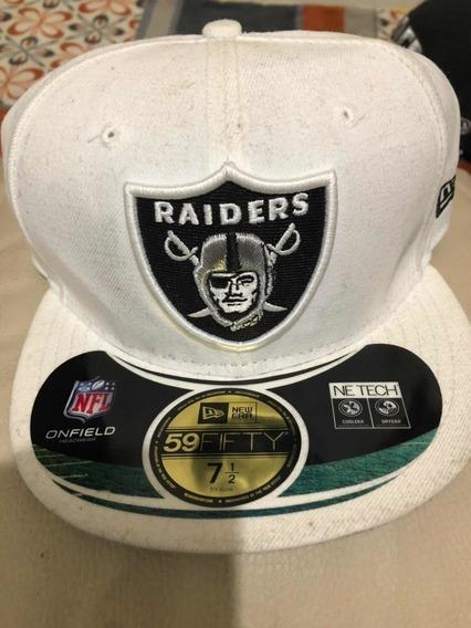 Gorra De Los Raiders Onfield Nfl New Era 7 1/2