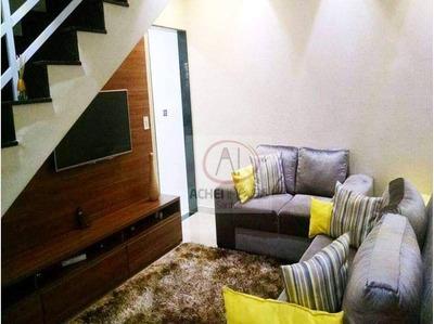Casa Com 2 Dormitórios À Venda, 69 M² Por R$ 250.000,00 - Esplanada Dos Barreiros - São Vicente/sp - Ca1564