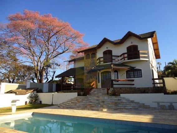 Casa Residencial À Venda, Retiro Das Fontes, Atibaia. - Ca1554