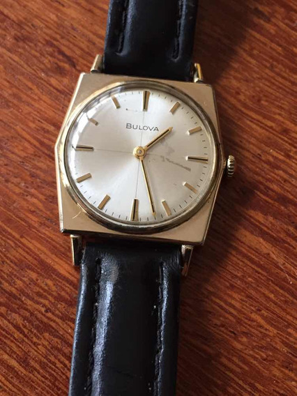 Relógio Antigo Bulova A Corda Vintage