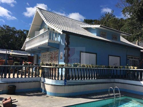 Imagem 1 de 30 de Casa Com 4 Dormitórios À Venda, 220 M² Por R$ 900.000,00 - Fazendinha - Teresópolis/rj - Ca0294