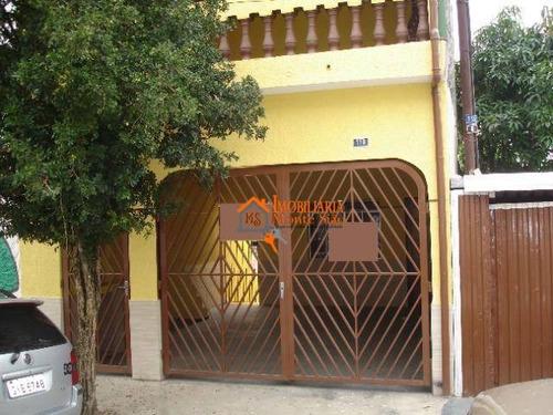 Ótimo Imóvel Para Moradia Ou Aluguel, 3 Casas No Mesmo Terreno. - So0577