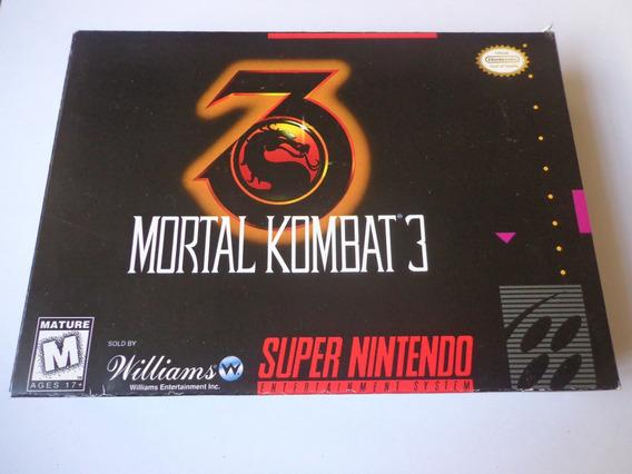 Snes - Mortal Kombat 3 - Original