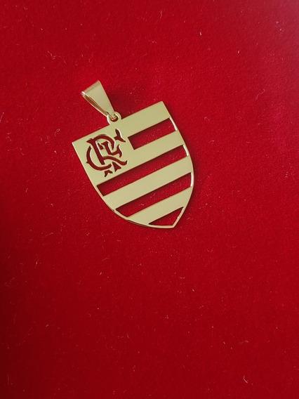 Pingente Do Flamengo Em Ouro 18kl 750