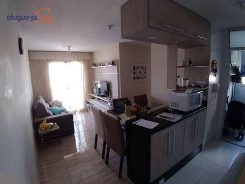 Imagem 1 de 17 de Apartamento Com 2 Dormitórios À Venda, 56 M² Por R$ 319.000 - Conjunto Residencial Trinta E Um De Março - São José Dos Campos/sp - Ap13285
