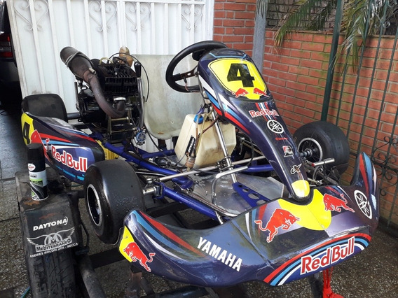 Karting Completo Chasis Crg Kali 2014 (motor Japones Cajero)