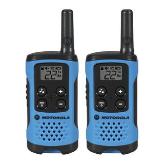 Walkie Talkie Motorola T100mc 25km Distancia 22 Canais
