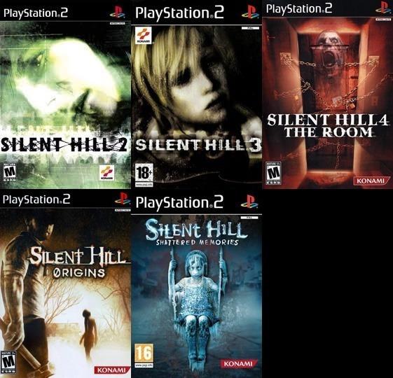 Patche Saga Silent Hill (5 Jogos) Para Play 2 Leia A Descriç