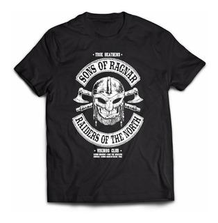 Camiseta Vikings - Sons Of Ragnar - Série - Seriado