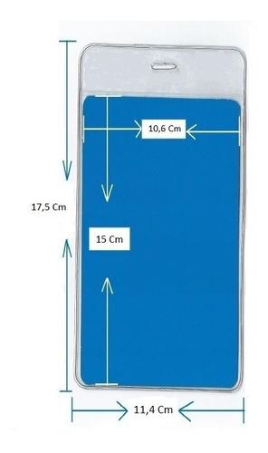 Funda Plastica O Pota Distintivo  11,4 X 17,5 Cm