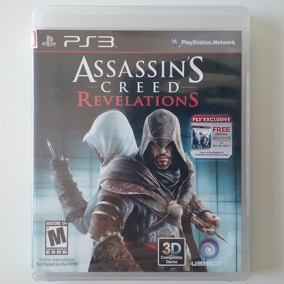 Assassins Creed Revelations Ps3 M Física Legendado Perfeito