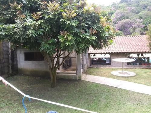 Imagem 1 de 30 de Chácara Com 2 Dormitórios À Venda, 6250 M² Por R$ 480.000 - Sítio Casa Vermelha (ouro Fino Paulista) - Ribeirão Pires/sp - Ch0012