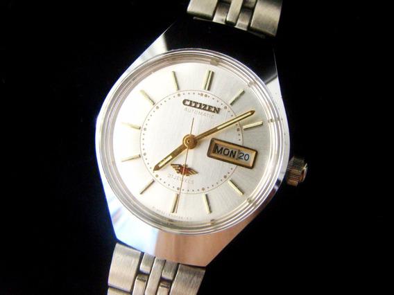 Relógio Citizen Automático Feminino Pd0070 - Novo - Raridade