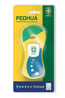Apito Pedhuá Sem Cordão - Brasil - Verde E Amarelo