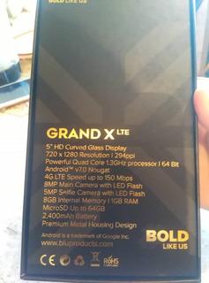Blu Grand X Lte 4g 4 Meses De Uso Legal