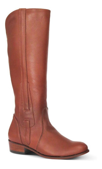 Bota Country Montaria Couro Floater Feminina Silverado Tan