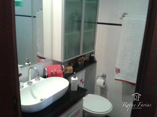 Imagem 1 de 9 de Apartamento Residencial À Venda, Bussocaba, Osasco - Ap1396. - Ap1396