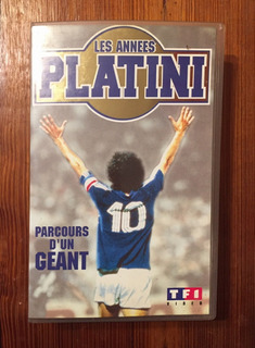 Platini - Video Vhs - Historia - Made In France
