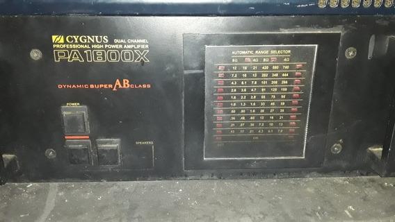 Amplificador Cygnus Pa 1800x
