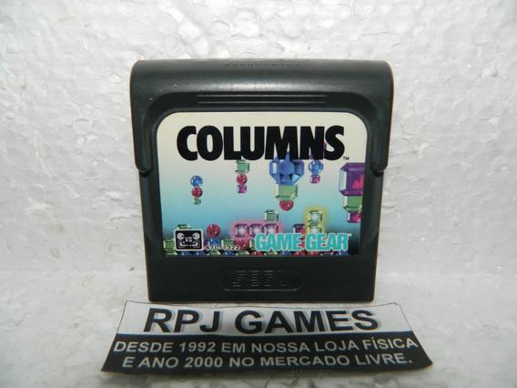 Columns Original Para Game Gear - Loja No Centro Do Rj