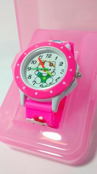 Relógio Infantil Hello Kitty Promoção Barato