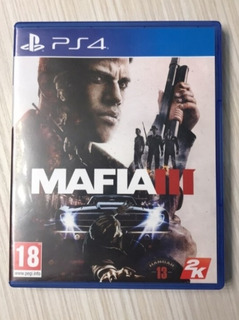 Mafia 3 Ps4 Fisico Impecable! No Canje
