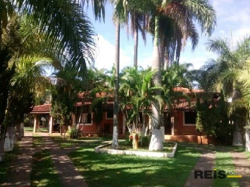 Chácara Com 3 Dormitórios À Venda, 4000 M² Por R$ 3.500.000,00 - Parque Vereda Dos Bandeirantes - Sorocaba/sp - Ch0026