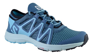Zapatillas Mujer Salomon Crossamphibian Swift Outdoor Bl/bl