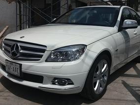 Mercedes Benz C350 2008 Blindaje 3 3.5l Aa Ee Piel