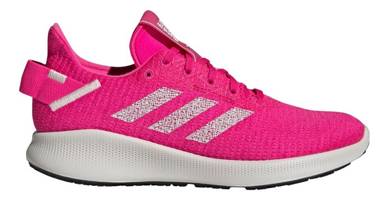 Zapatillas adidas Sensebounce+ Street Running Fuc/bla Mujer