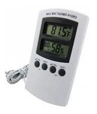 Termo Higrometro Termometro E Higrometro Com Display Digital
